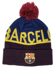 93163a315e8  FC  Barcelona  beanie  winter  hat  laliga  soccer Barcelona Soccer