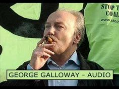 """Galloway discusses Israel and Iran. """"Israel are the terrorist thugs!"""" - George Galloway"""