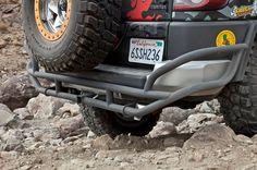 Trail Gear Rock Defense FJ Cruiser Rear Bumper [300135-KIT] - $439.90 : Pure FJ Cruiser Accessories, Parts and Accessories for your Toyota FJ Cruiser