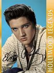 Elvis 1000pc Puzzle - Limited edition 1,000 piece Elvis Presley jigsaw puzzle, full color, Hollywood legends signature portrait.