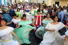 Fiestas de la calle Sansebastian. San Juan, Puero Rico.