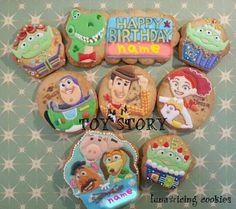 トイストーリーアイシングクッキー |アイシングクッキーワークショップ ~Cookie mark~横浜市 準備中。。|Ameba (アメーバ)