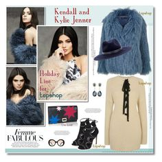 """""""Kendall and Kylie for Topshop"""" by anne-irene ❤ liked on Polyvore featuring Michael Kors, Laura Biagiotti, Givenchy, Topshop, Prada, rag & bone, Roger Vivier, topshop, kendalljenner and furcoat"""
