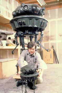 Probe droid & Richard Edlund