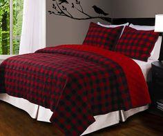 Red Buffalo Check Comforter | Screen shot 2011-12-01 at 10.42.41 PM