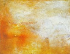 Sun Setting over a Lake by Joseph Mallord William Turner