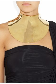 Amazing Aurelie Bidermann 18k gold-plated collar - £15,142