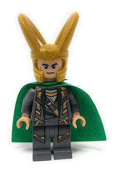 UK Seller Marvel Avengers Superheroes Custom Loki Mini Figure