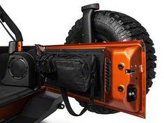 Smittybilt GEAR Wrangler Tailgate Cover - Black 5662301 (07-16 Wrangler JK) - Free Shipping