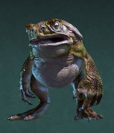 Toad body type for the Hylek frog race. Creature Concept Art, Creature Design, Character Art, Character Design, Hybrid Art, Frog Illustration, Alien Drawings, Kobold, Cool Monsters