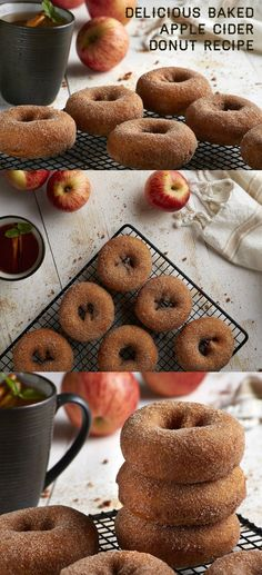 hot apple cider donuts