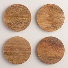 mango wood coaster 15$ world market