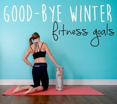 8 weeks to a Healthier Me {Good-Bye Fitness Goals} || lushiousLIFTS.com