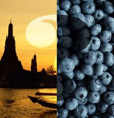 Did you know? Black #rice has more antioxidants than blueberries and can be found in Thailand.