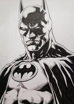 Batman by Jason Fabok Batman Drawing, Drawing Superheroes, Batman Artwork, Batman Comic Art, Marvel Drawings, Batman Wallpaper, Im Batman, Comic Drawing, Batman Robin