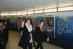 Cineplex Give & Go Campaign Calgary, Campaign, Take That