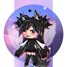 Discover recipes, home ideas, style inspiration and other ideas to try. Cute Anime Chibi, Kawaii Anime, Kawaii Drawings, Cute Drawings, Manga Art, Anime Art, Pelo Anime, Chibi Hair, Wolf Life