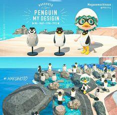 Animal Crossing Funny, Animal Crossing Characters, Animal Crossing Villagers, Animal Crossing Qr Codes Clothes, Animal Games, My Animal, Penguin Animals, Ac New Leaf, Pix Art