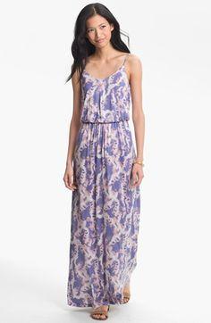 Lush Knit Maxi Dress (Juniors)   Nordstrom
