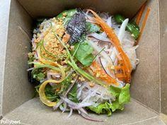 Glass Noodle Salad, Vietnamese Recipes, Cold Meals, Take Out, Pho, Noodles, Menu, Restaurant, Amazing