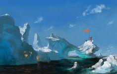 iceberg mono by dimarinski.deviantart.com on @deviantART