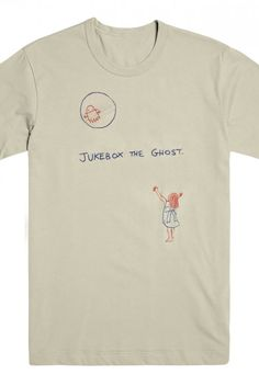Sun Ghost Logo Tee (Creme) - Jukebox The Ghost - Official Online Store on District LinesDistrict Lines