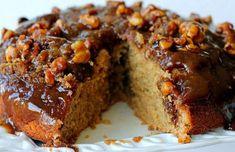 A delicious Portuguese caramel and walnut cake recipe (receita de bolo de caramelo com nozes), just perfect for that sweet craving.