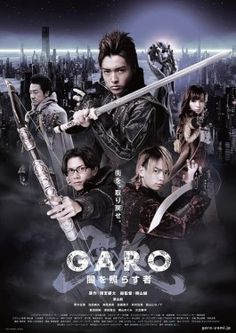 GARO: The One Who Shines In The Darkness-Japanese drama (2013)  25 episodes