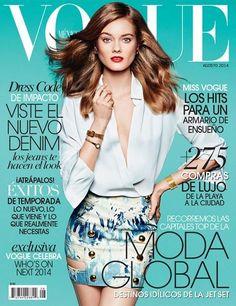 Jac Jagaciak - Vogue Mexico August 2014 Cover