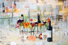 Citrus-Colored Celebration For Blue Oak Academy — Marilyn Ambra Party Consultants Wedding Reception, Our Wedding, La Tavola Linen, Floral Wedding, Special Events, Floral Design, Celebration, Table Decorations, Florals
