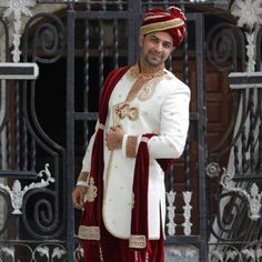 There are many wedding sherwani designs that are available in the market. We provide you an ultimate list of vendors for the Indian wedding groom dresses which are best in the city. Marriage Dress For Groom, Groom Wedding Dress, Groom Dress, Wedding Wear, Wedding Dresses, Indian Groom Wear, Wedding Sherwani, Designer Wear, Wedding Designs