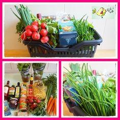 Geschenkkorb mit Kochbuch und  Zutaten - diy Geschenk-Idee - gift idea