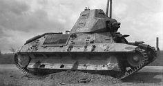 Char leger d'accompagnement FCM-36 tank Forges et Chantiers de la Mediterranee.