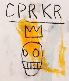 By Jean-Michel Basquiat Basquiat Tattoo, Jm Basquiat, Jean Michel Basquiat Art, Basquiat Paintings, Keith Haring, Art Advisor, Robert Rauschenberg, Andy Warhol, Painting Art