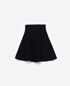 Image 8 of MINI SKIRT WITH HEM DETAILS from Zara