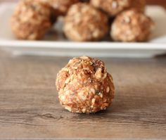 No-bake Energy Balls from @Knead to Cook.
