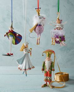 Patience Brewster Nutcracker Series Christmas Ornaments - Horchow