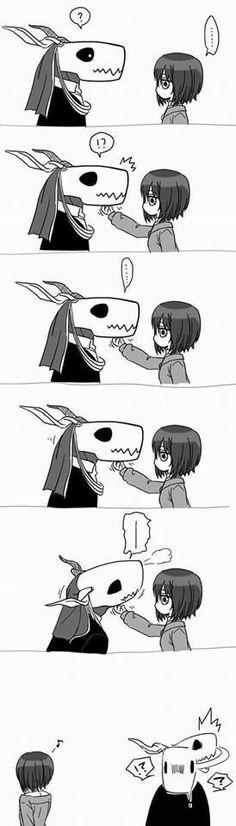 So cute! Kore Yamazaki, Manga Anime, Anime Art, Elias Ainsworth, Chise Hatori, The Ancient Magus Bride, My Sun And Stars, Kawaii Chibi, Cute Comics