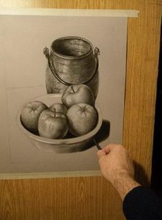 5.- Dibujo paso a paso de bodegón :: Valero Still Life Sketch, Art Projects, Projects To Try, Apple Painting, Art Drawings, Sketchbook Drawings, Acrylic Art, Teaching Art, Home Art
