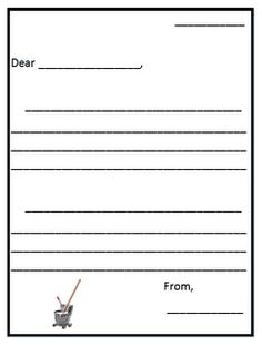 End Of The Year Thank You Template  Students Note And Template