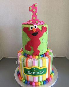 11 Adorable Sesame Street Birthday Cakes