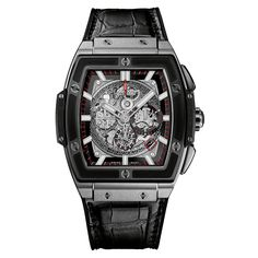 Details and features of Spirit of Big Bang Titanium Ceramic, luxury chronograph by Hublot. Find out where to buy and prices of Hublot Spirit of Big Bang watches. Breitling, Cool Watches, Watches For Men, Unique Watches, Hublot Watches, Men's Watches, Diamond Watches, Gentleman Watch, Titanium Watches