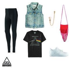 #Fashion Selection n°74 : Adidas legging, Madewell jacket, Aeropostale tshirt, Forever 21 ear cuff, Nat & Nin purse, Nike shoes : http://bewaremag.com/2014/03/30/selection-mode-74/