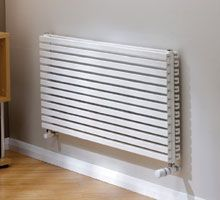 Cube Tube radiator - very high heat output due to horseshoe shaped tubes. Available in horizontal and vertical models Contemporary Radiators, Contemporary Style, Modern, Stainless Steel Radiators, New Home Wishes, Designer Radiator, Ral Colours, Wall Brackets, Bay Window