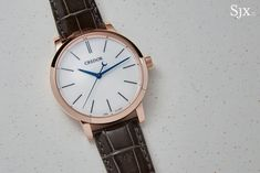 """Explaining the Seiko Credor Eichi II in Rose Gold"" via @watchville"