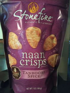 Stone fire authentic flatbreads naan crisps tandoori spice