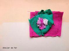 brooch Atelier de Fer: Green