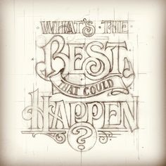 Lovely sentiment turning the original on it's head (and equally lovely typography concept art) from graphic artist Matthew Tapia in Hawaii.