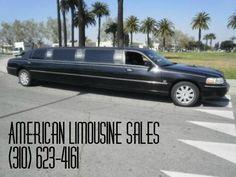 2006 LINCOLN Town Car Black 120-inch 10 Pass. Limousine #1015 - $21995   Visit us at our website: Americanlimousinesales.com