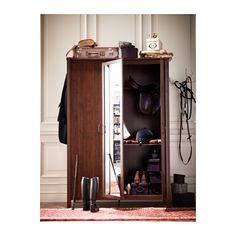 BRUSALI Wardrobe with 3 doors  - IKEA